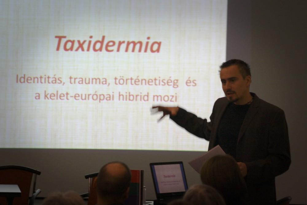 Kalmár György a Taxidermiáról elmélkedett