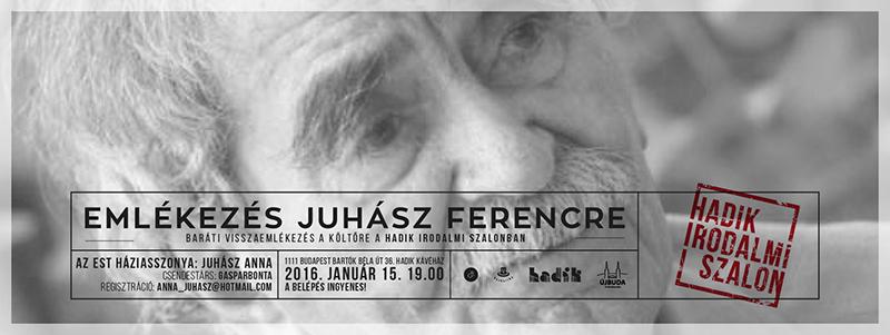 Juhász Ferenc flyer