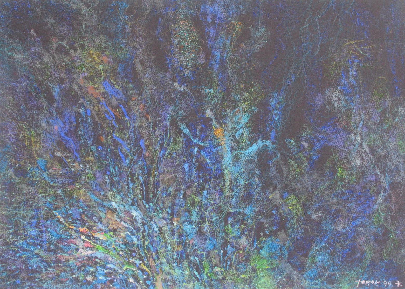 Szárhegyi hajnal 1999_pasztell_50x70_resize