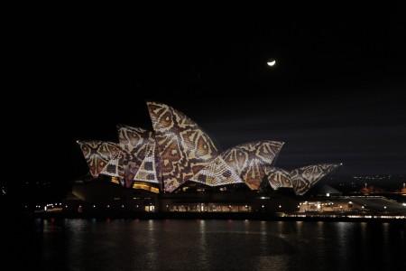 Fényfestés Sydneyben