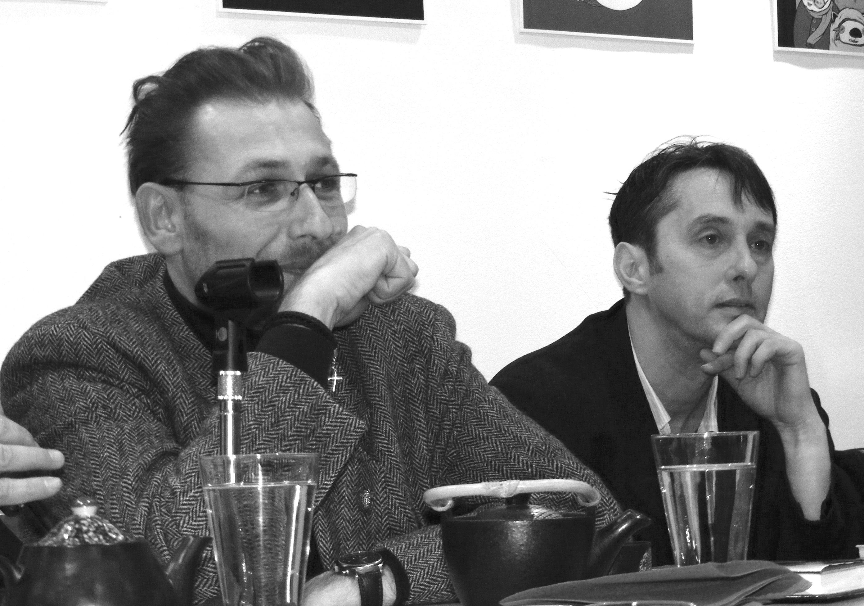Bartis Attila és Kemény István