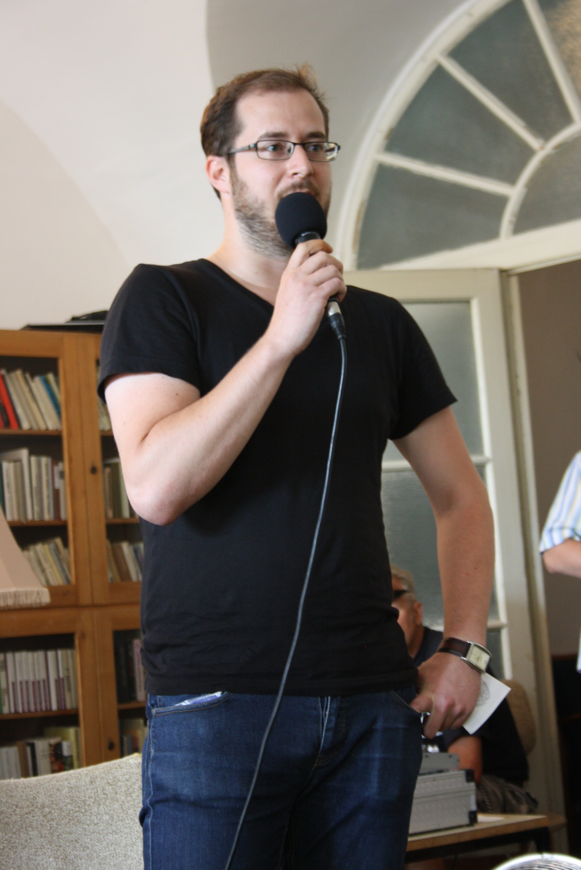 Az elnökségért induló, épp a programtervét közreadó Krusovszky Dénes