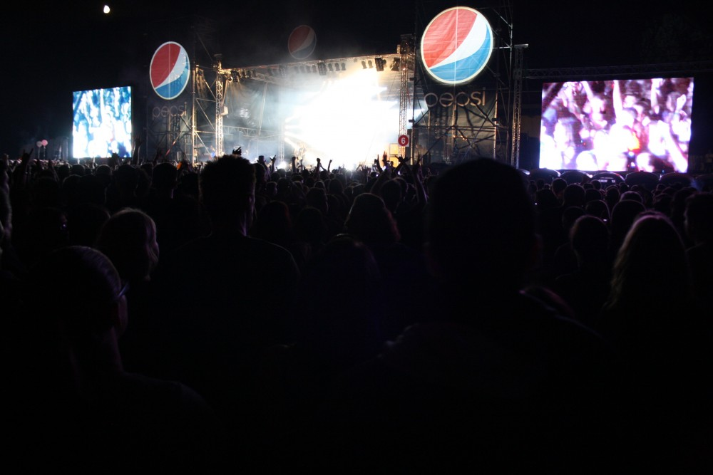 Tankcsapda koncert a Pepsi Színpadon - Campus Fesztivál 2012