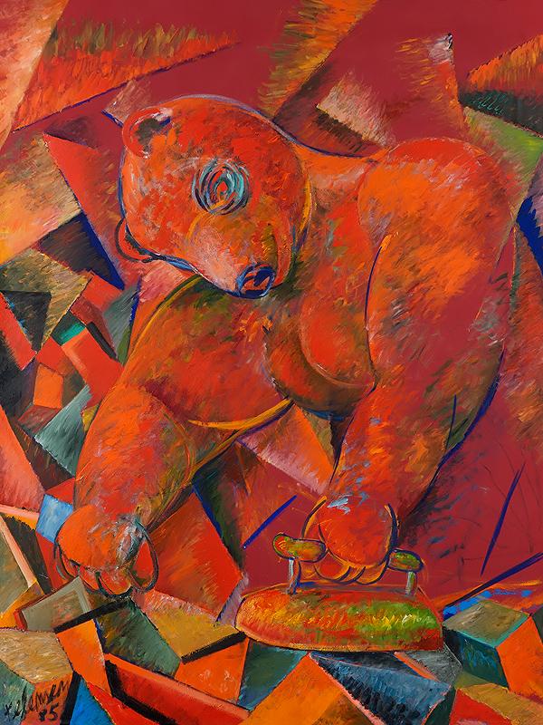 Kelemen Károly: Vasaló medve