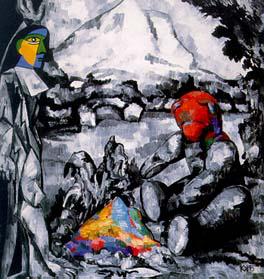 Kelemen Károly: Mont Saint Victoire