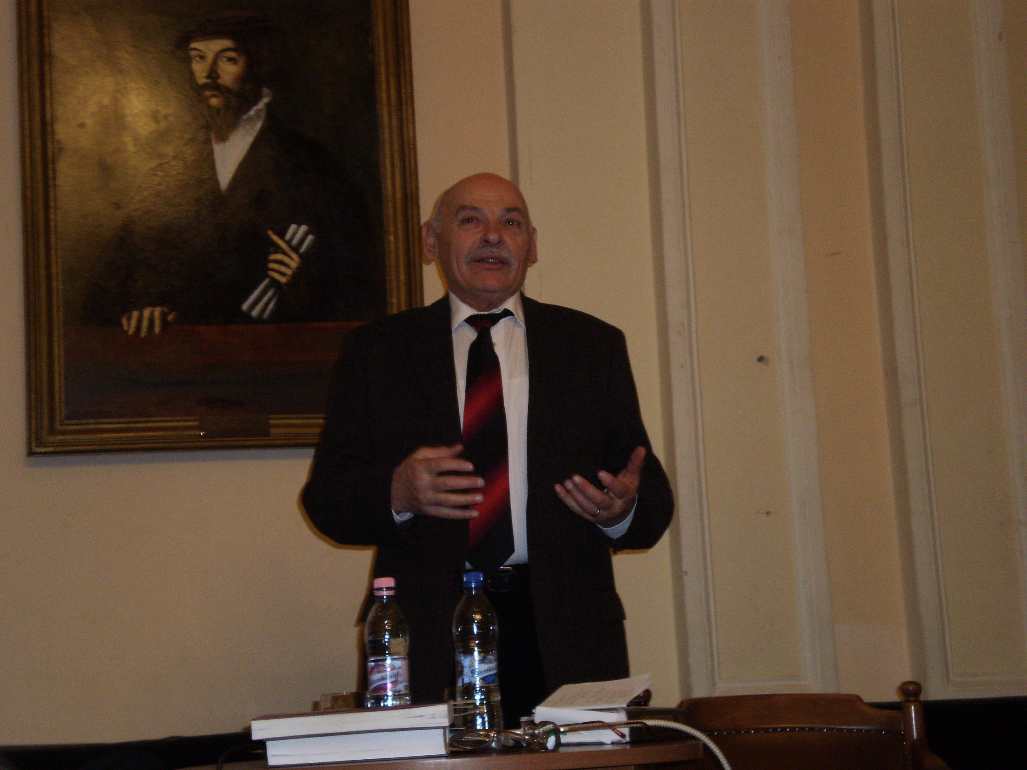 Szilágyi István a Református Kollégiumban