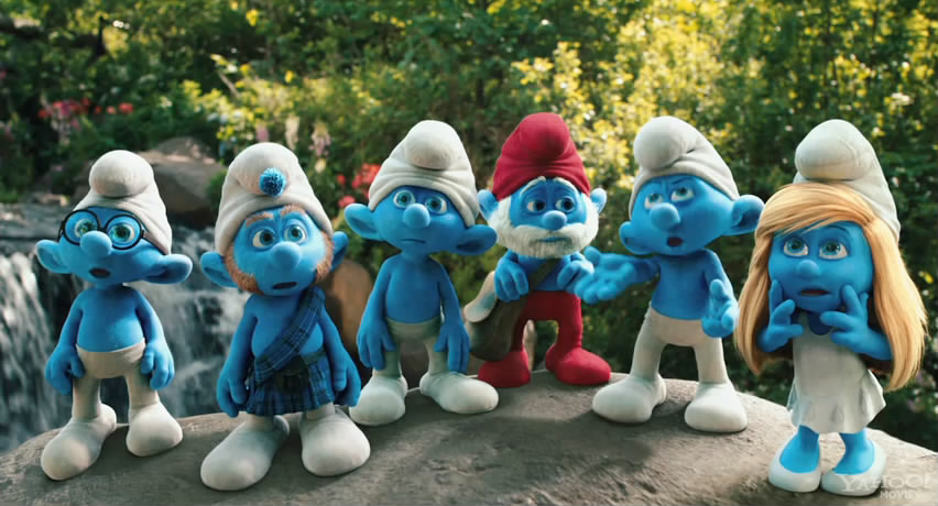 Törprengők - The Smurfs