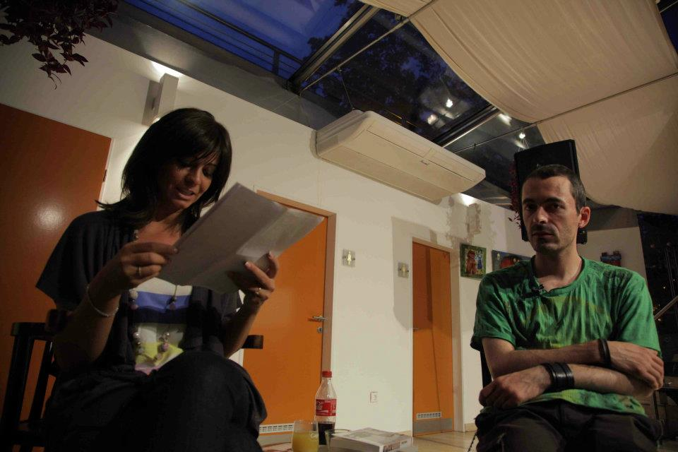 Juhász Anikó és a Drognapló szerzője Debrecenben