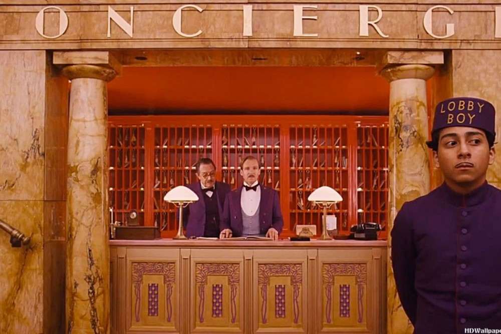 A Grand Budapest Hotel