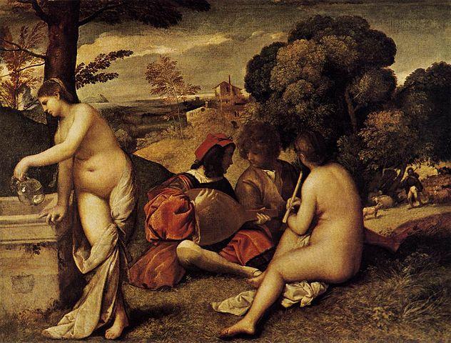 632px-Giorgione,_Pastoral_Concert_01