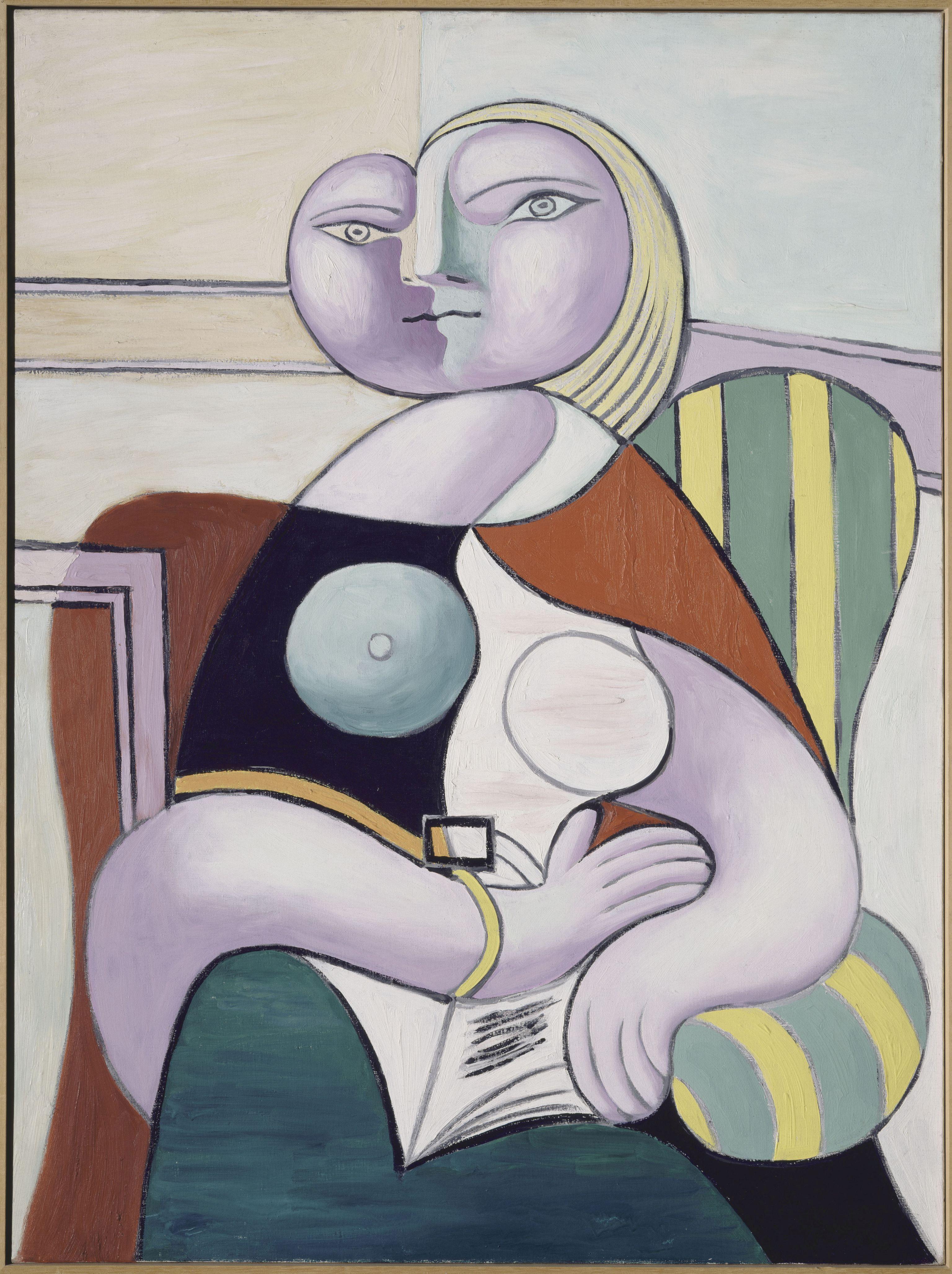 Pablo Picasso_Olvaso no 1932