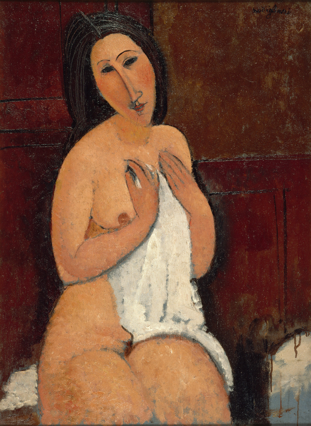 Modigliani_Ulo akt inggel 1917