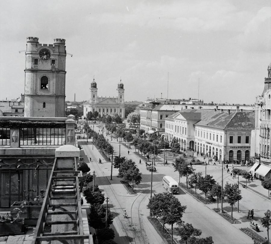 Debrecen (forrás: Méliusz Juhász Péter Könyvtár)