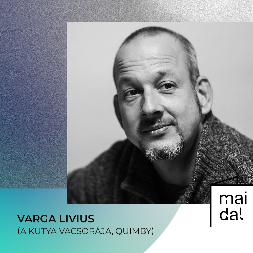 Varga Livius (kép: Mai Dal)