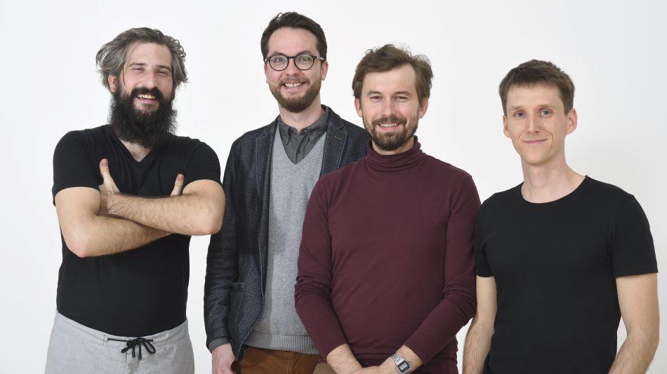 Molnár Szabolcs, Kovács Dániel, Csóka Attila Róbert, Smiló Dávid (fotó: Rosta József)