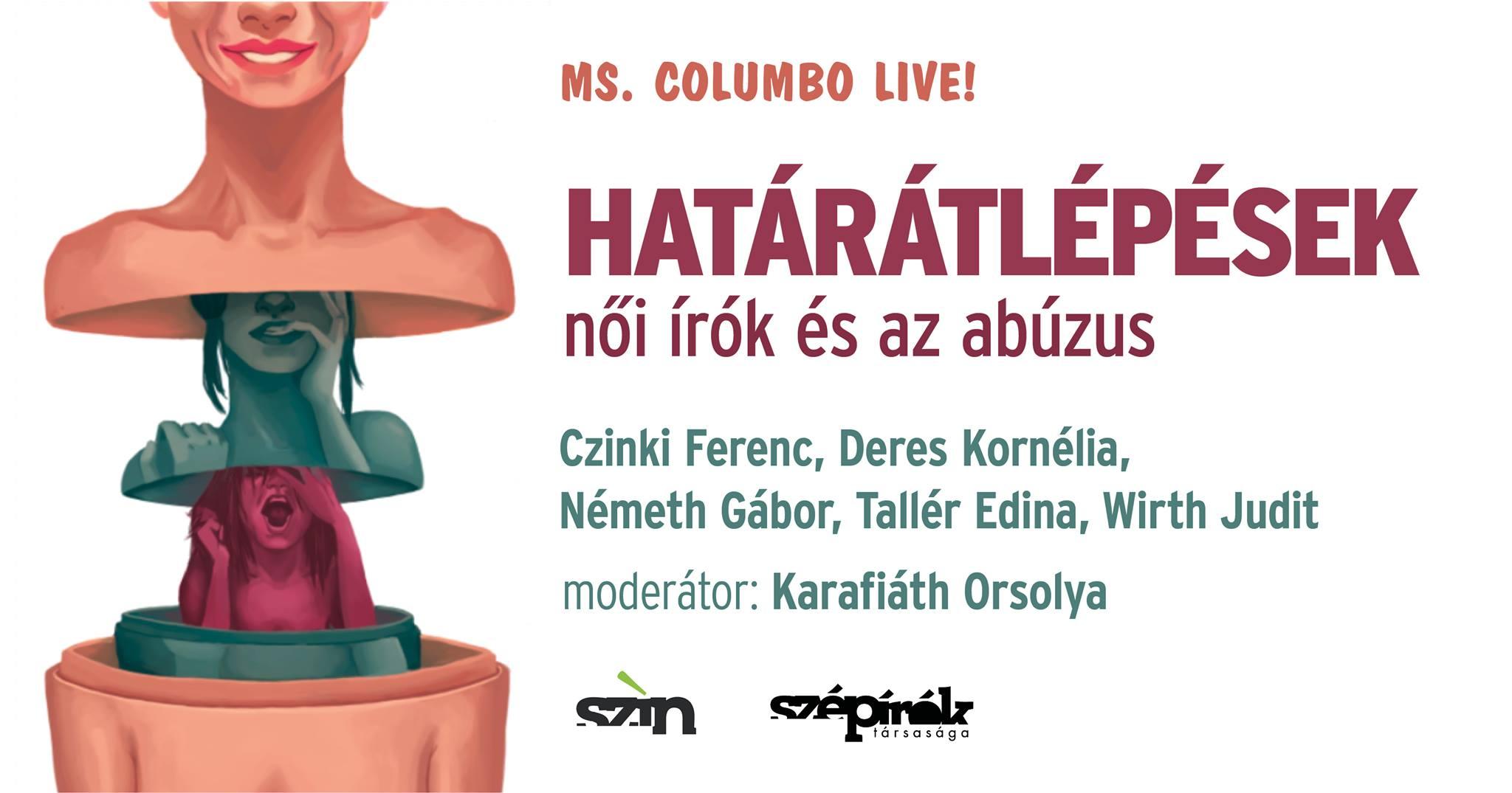 Ms. Columbo Live! Határátlépések