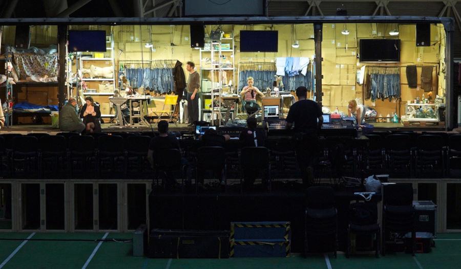 A Nehéz istennek lenni a MESS Fesztiválon 2012-ben (forrás: Proton Színház)