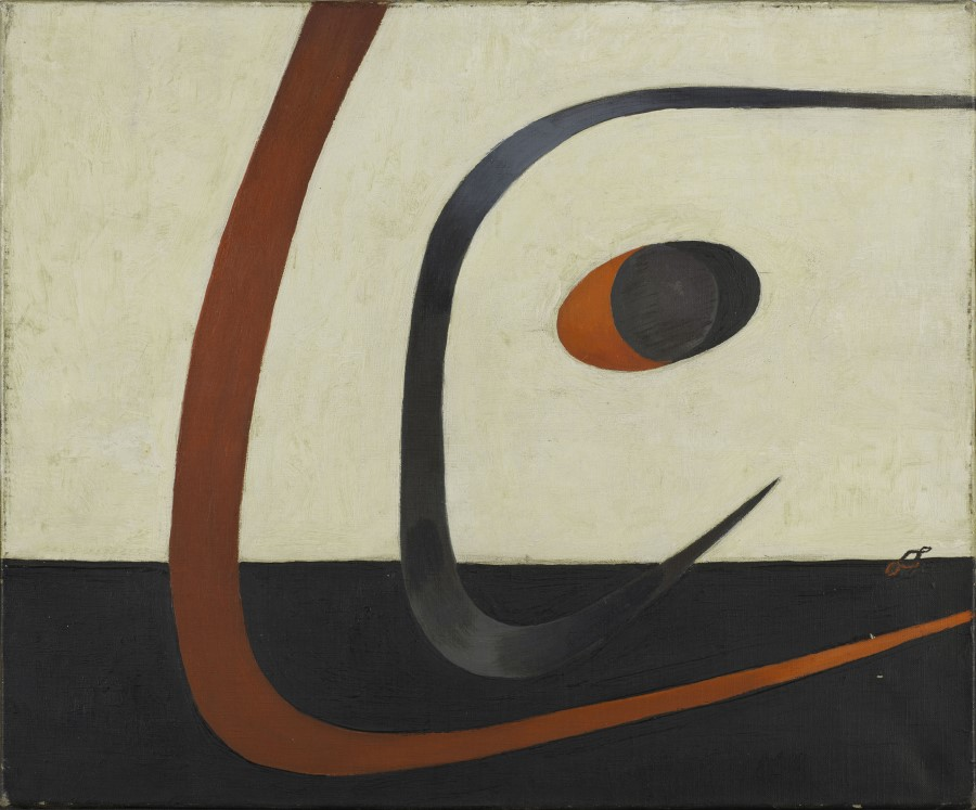 Tihanyi Lajos: Absztrakt festmény, 1933, Párizs, Centre Georges Pompidou. MNAM-CCI-Dist. RMN Grand Palais ©Bertrand Prevost