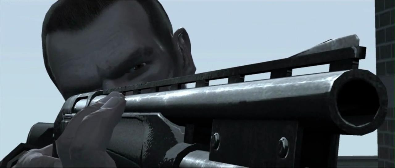 akciófilm a GTA IV grafikus motorjával