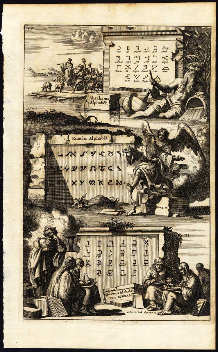 Az őrzők beavatják a földieket a titkokba - egy régebbi Henok-könyv borítója