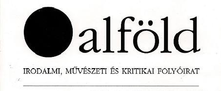 Alföld 2012/03.