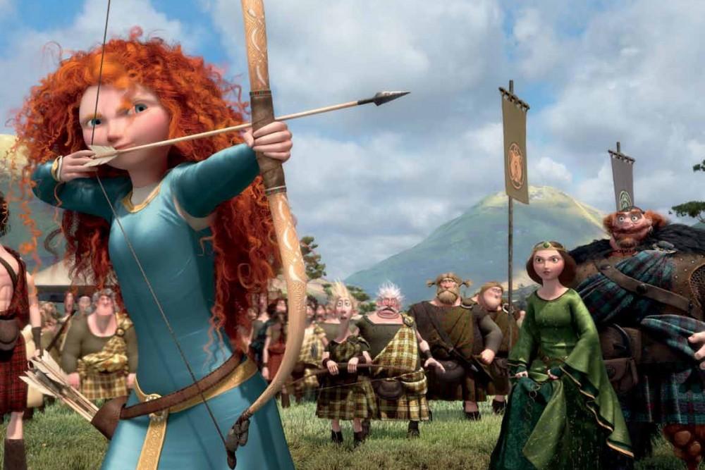 Merida, a bátor