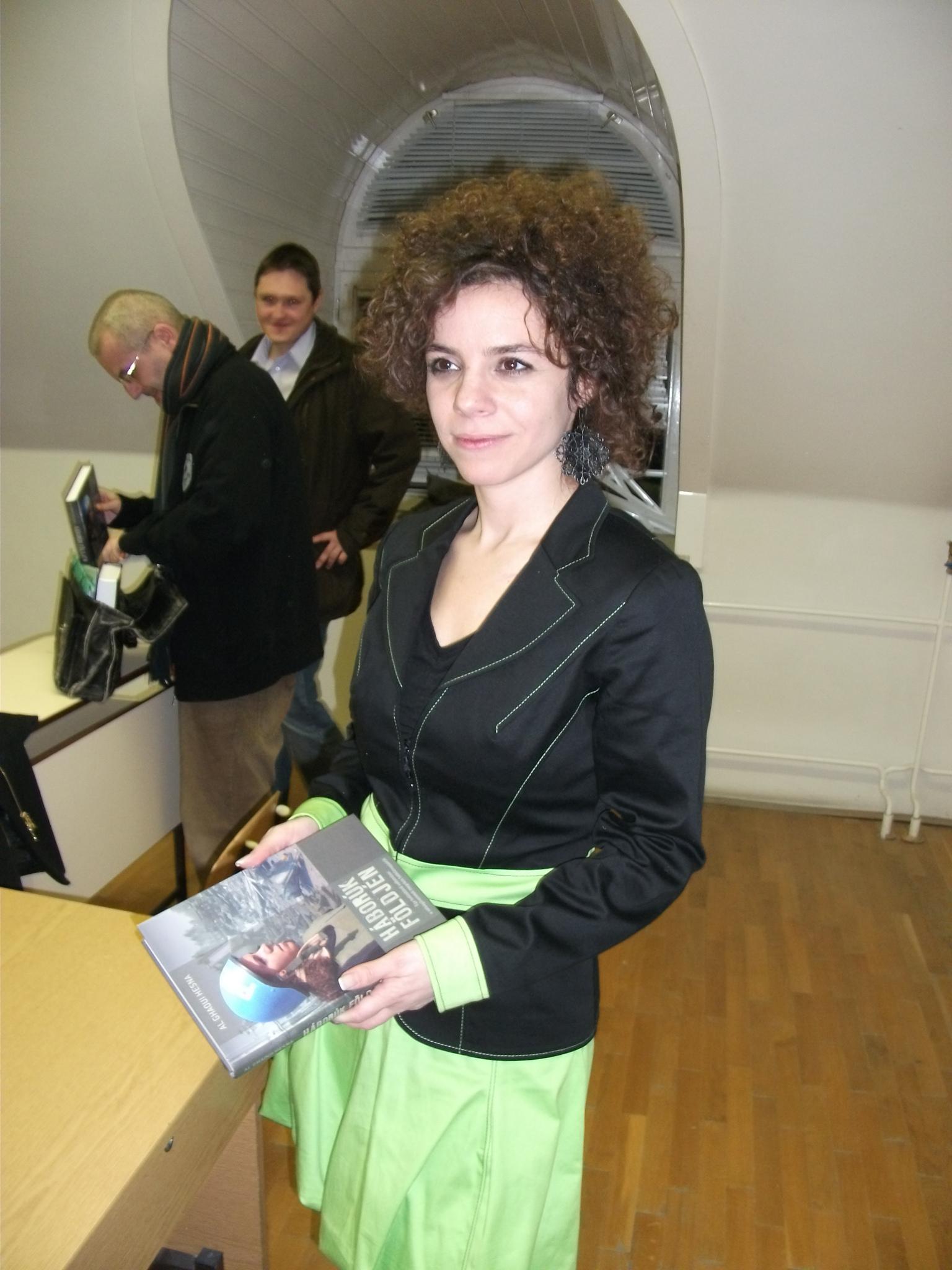 Al Ghaoui Hesna a PTE BTK Kommunikáció és médiatudományi tanszék vendége volt