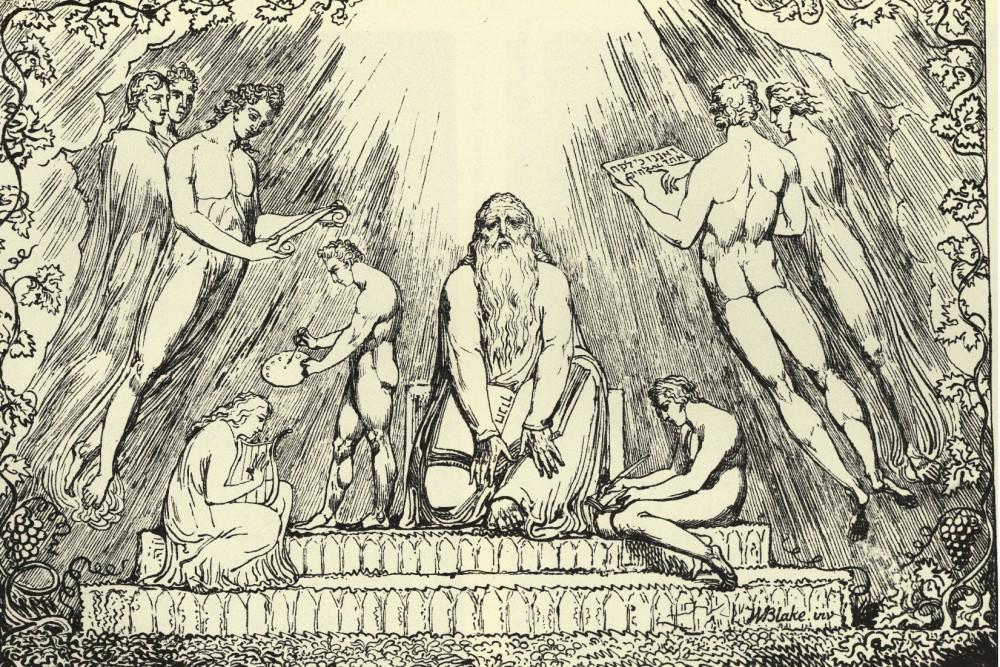 William Blake: Hénok felkészítése