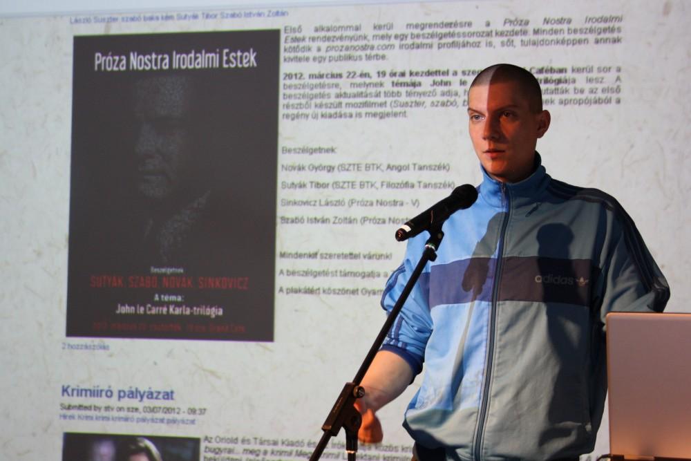 Szabó István Zoltán - Próza Nostra - KULTOK