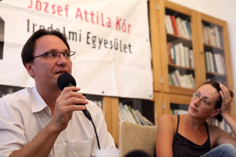 Balogh Endre (balra) (Fotó: Börcsök Mihály)