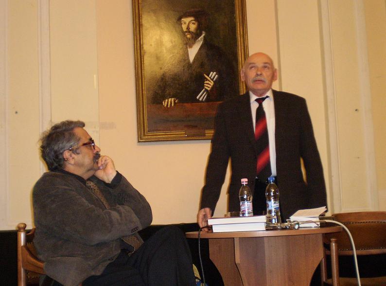 Bal oldalt Márkus Béla, mellette Szilágyi István