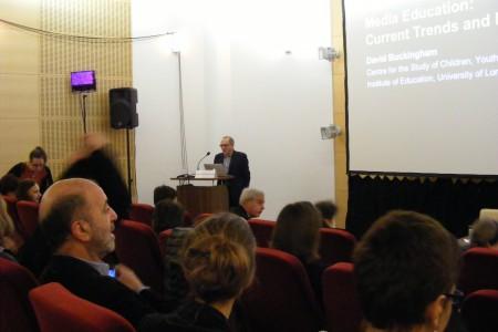 David Buckingham előadása