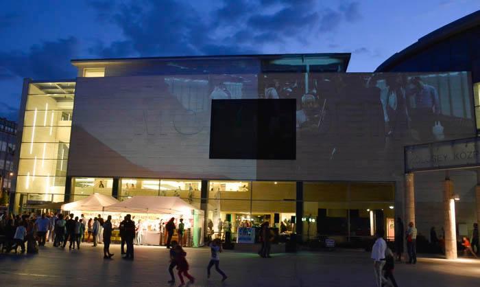 Múzeumok Éjszakája 2014 - MODEM, Debrecen (forrás: MODEM, facebook)