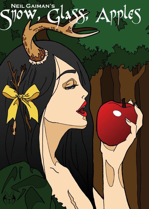 Neil Gaiman: Snow, Glass, Apples (kép forrása: Supernaturalfairytales.net)