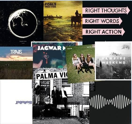 KULTlemezek 2013 TOP10 - Borítók