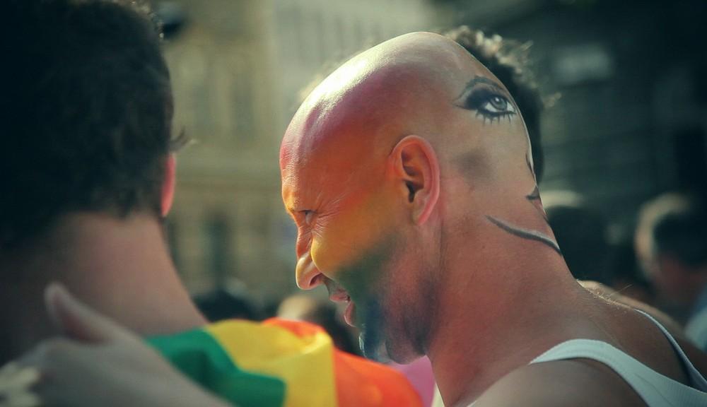 Tomas Rafa, Queer Parade Budapest, Hungary, june 2011