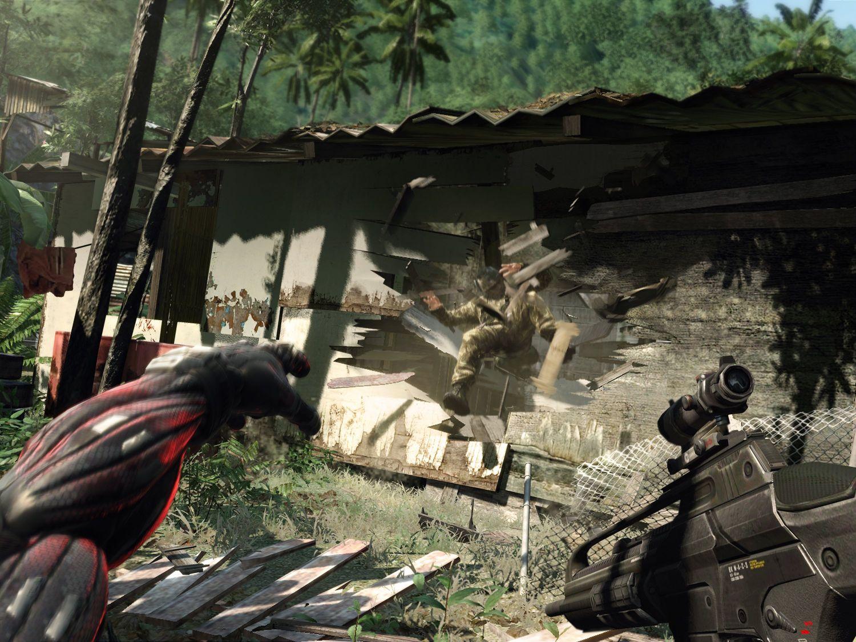 akció elsőkézből: Crysis