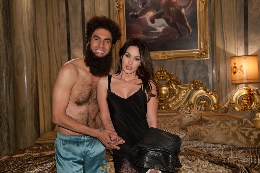 A diktátor - Sacha Baron Cohen és Megan Fox