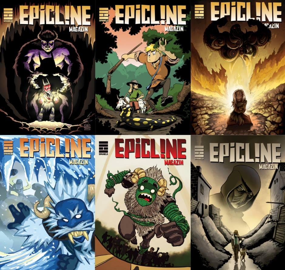 Epicline címlapok