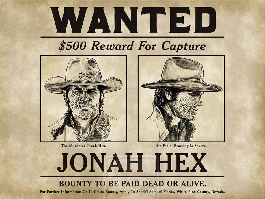 a törvényenkívüli Jonah Hex