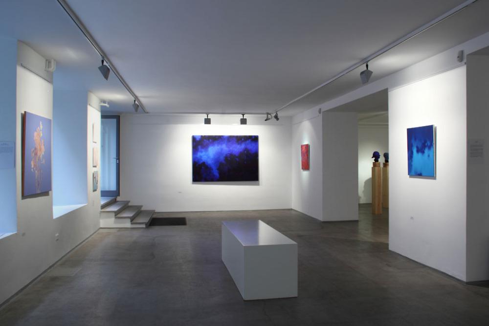 Kontra Ágnes: Kitakart képek, kiállítás-enteriőr