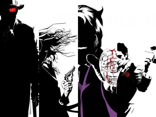 X-Men Noir borítók