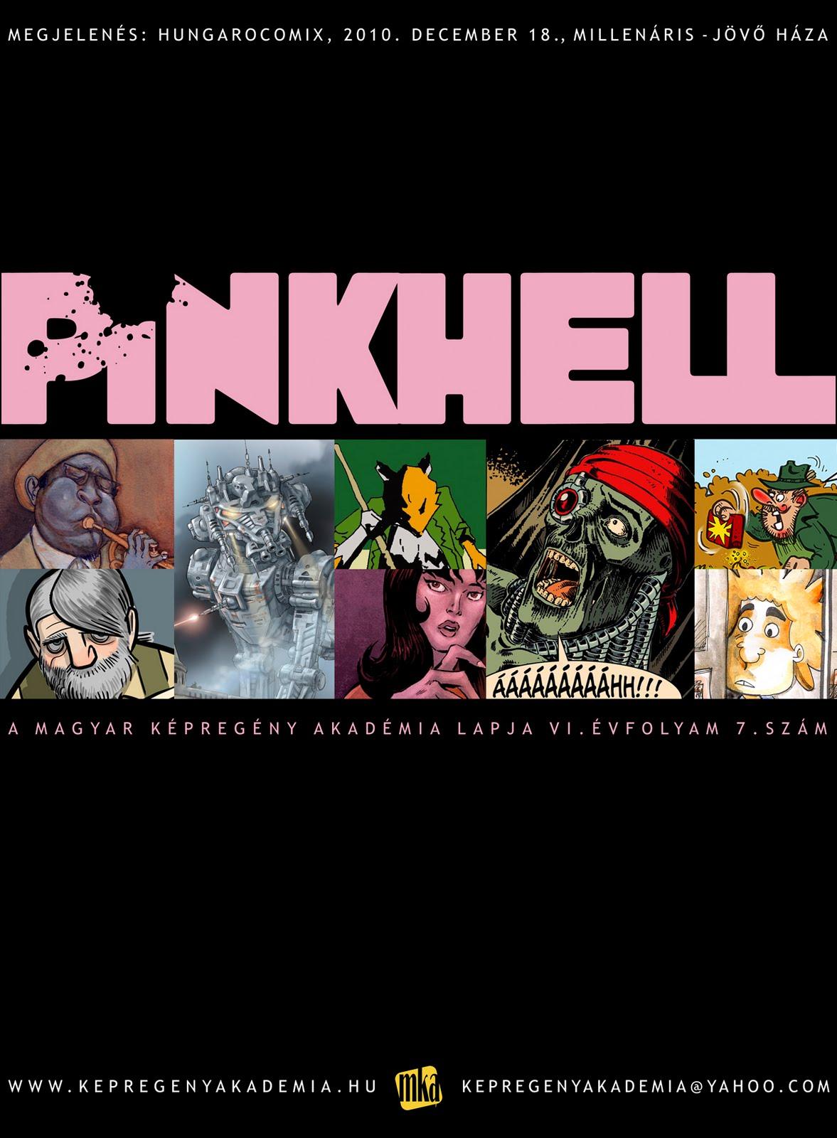 A Pinkhell 7 reklámanyaga