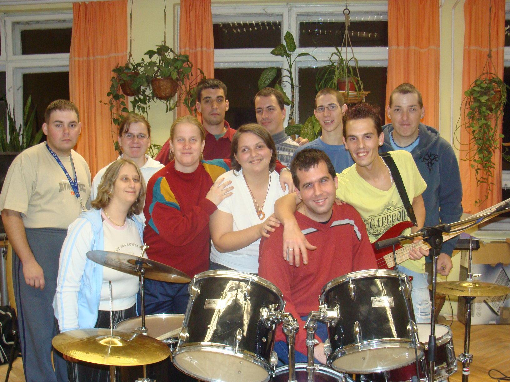 A zenekar